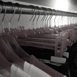 kunststof hangerlijn rood transparant