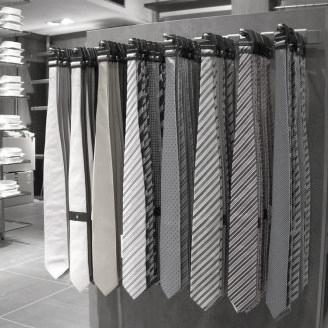 Winkelinrichting Icon RVS stropdassenpresentatie